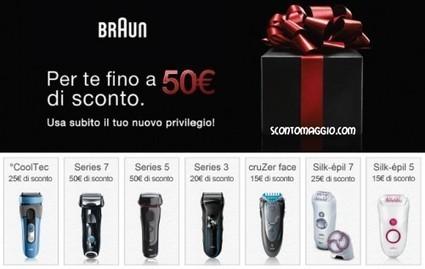 Buoni sconto Braun: risparmia fino a 50 € | scontOmaggio | Coupon e buoni sconto per la spesa alimentare | Scoop.it