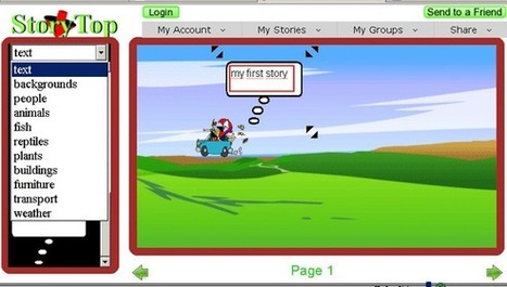 StoryTop: Story Board App for Making Cartoonish Stories | Comics & Cartoons in the Classroom | Scoop.it