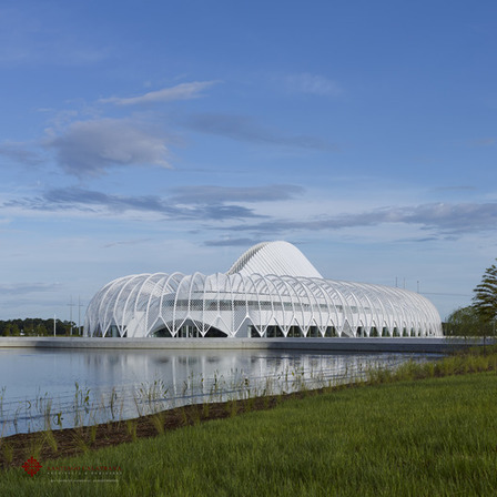 "Santiago CALATRAVA'S Florida Polytechnic Building Awarded ""Best in Steel Construction"" by AISC 