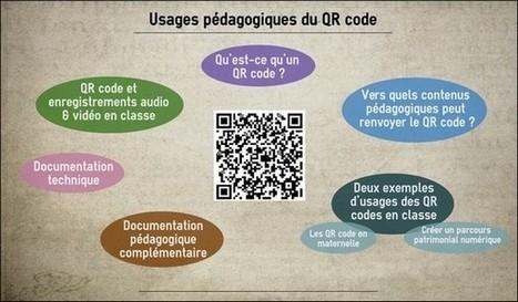 Usages pédagogiques du QR code - Circonscription du Soissonnais | Canopé Créteil : Salon Numérique Permanent. | Scoop.it