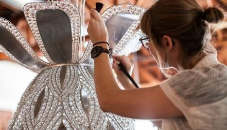 Baguès Paris réédite le lustre Bourgeon d'Armand-Albert Rateau | art et design | Scoop.it