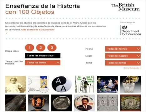 Enseñanza de la Historia  con 100 Objetos. Proyecto del British Museum | Recursos educativos para Bachillerato, Geografía e Historia | Scoop.it