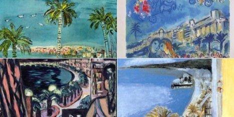 Les plus belles peintures de la Baie des Anges partagées pour se souvenir de la beauté éternelle de Nice | Arts et FLE | Scoop.it