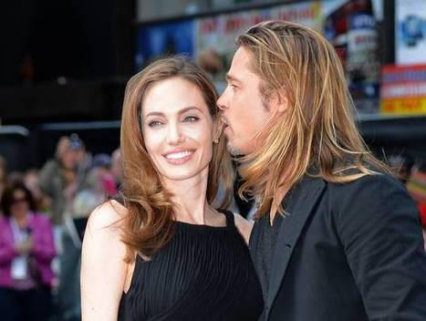 Angelina And Brad Are Soulmates ! - YourCeleb | Business | Scoop.it