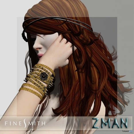 ZMAN Gold Watch Group Gift by FINESMITH | Teleport Hub - Second Life Freebies | Second Life Freebies | Scoop.it