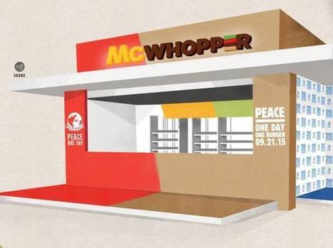 Burger King has asked McDonald's to join in creating a McWhopper | INTRODUCTION TO THE SOCIAL SCIENCES DIGITAL TEXTBOOK(PSYCHOLOGY-ECONOMICS-SOCIOLOGY):MIKE BUSARELLO | Scoop.it