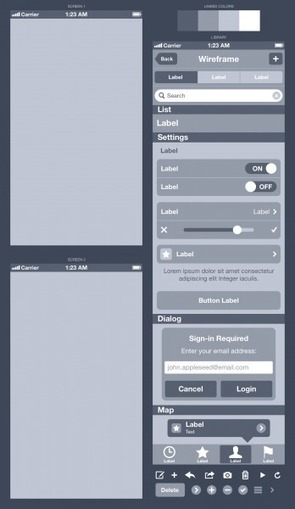 How To Wireframe An iPhone App In Sketch | Effective UX Design | Scoop.it