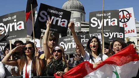 Beautiful »» Syria anti-intervention march in London draws thousands (PHOTOS) Peace Prize to London! | Saif al Islam | Scoop.it