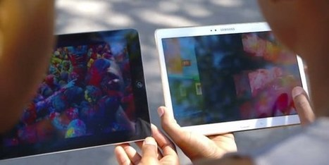 "Samsung ""ataca"" Apple em vídeo de comparação entre Galaxy Tab S e iPad Air 