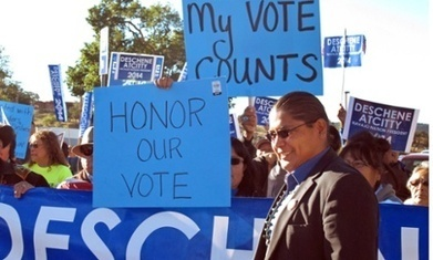 Navajo tribe disqualifies presidential candidate over language fluency | 500 Nations | Scoop.it