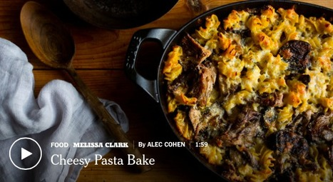 Baked Cheesy Pasta Casserole With Wild Mushrooms Recipe | good looking recipes | Scoop.it