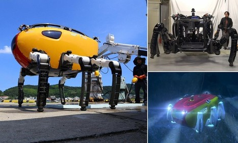 Meet Crabster, the giant robotic CRAB set to explore the seas | All about water, the oceans, environmental issues | Scoop.it