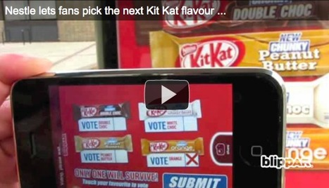 Kit Kat Uses Augmented Reality for Creative New Flavor Contest | Psychology of Consumer Behaviour | Scoop.it