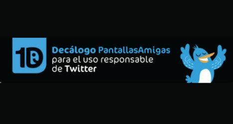 Revisa el Decálogo para el uso responsable de Twitter | El rincón de mferna | Scoop.it