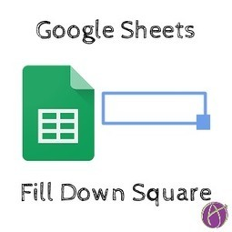 Google Sheets: Copy Down FAST | Into the Driver's Seat | Scoop.it