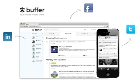 Buffer Shifts Focus, Launches New Social Sharing Apps For IPhone, Web - AllFacebook | Business Tools and Apps | Scoop.it