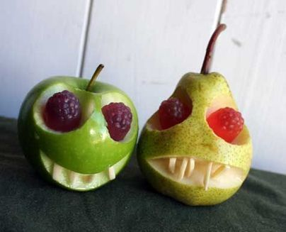 Trick or Treat? 10 Creepy Halloween Fruit and Veg | Vegan Food | Scoop.it