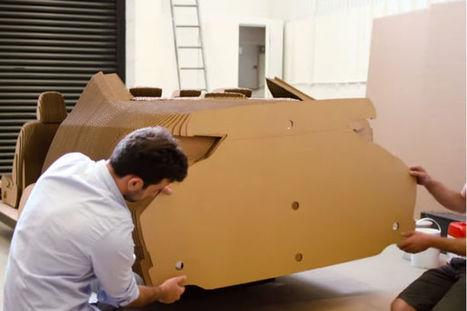 L'industrie c'est fou : Lexus dévoile son premier modèle... en carton (vidéos) | Ressources pour la Technologie au College | Scoop.it