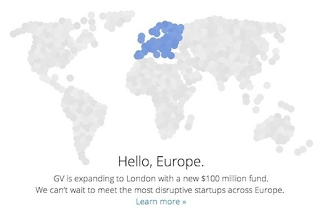 Es oficial: Google Ventures llega a Europa | Blogempleo Noticias | Scoop.it