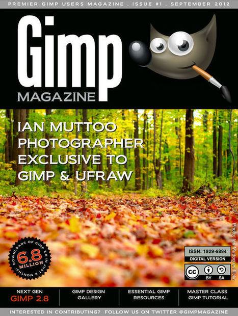 Magazine GIMP gratuit | Didactics and Technology in Education | Scoop.it