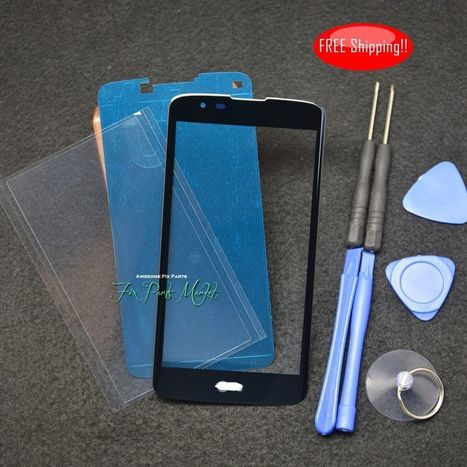 Front Screen Glass Panel Lens for LG Tribute 5 K7 MS330 LS675+Frame&OCA Tape | Cellphone Replacement Parts | Scoop.it