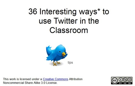 36 Interesting Ways* to use Twitter in the Classroom | Technology for school | Scoop.it