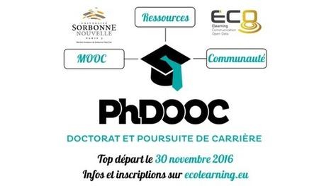 PHDOOC : un MOOC pour orienter les doctorants | MOOCAFET | Scoop.it