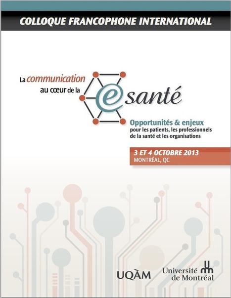 La e-santé au Québec : Où en est-on ? Où va-t-on ? | Portail Internet et santé | Applications bien-être, médical | Scoop.it
