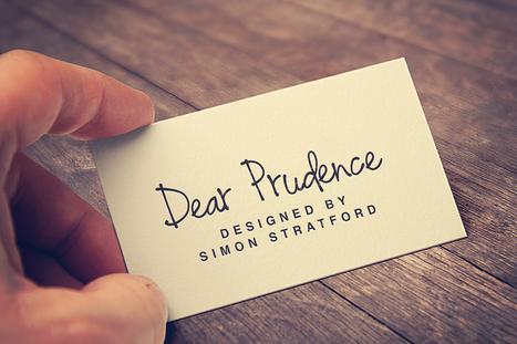 Dear Prudence a fun handwriting script font | My Typefaces | Scoop.it