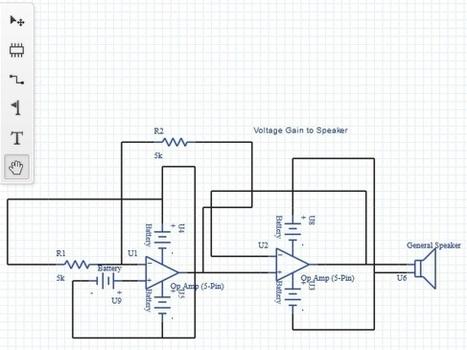 Upverter: A Web App To Create Electronic Circuit Diagrams & Schematics | Sridhar's Interesting Websites & Social Media Sites | Scoop.it