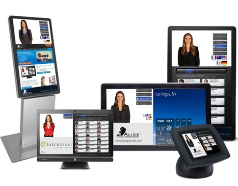Developers of virtual receptionist kiosks double customer base in 2014 | Self-Service and Kiosks by Worldlink | Scoop.it