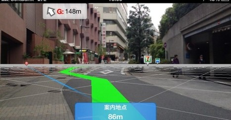 Now an Augmented Reality App for the Pedestrians | Augmented Reality Trends | augmented reality | Scoop.it