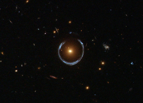 A Horseshoe Einstein Ring from Hubble | Astronomy Domain | Scoop.it