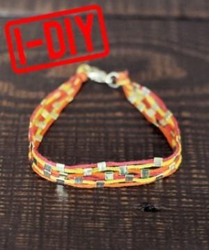 DIY A Killer Summer Friendship Bracelet For You And Your BFF | DIY - jewellery  =  HTM - bijou | Scoop.it