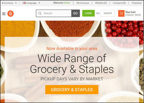 How Much Would it Cost to Launch Online Grocery Store/Website? | internet marketing | Scoop.it