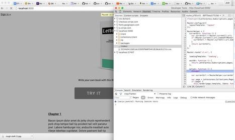 Easily debugging meteor.js | JavaScript for Line of Business Applications | Scoop.it