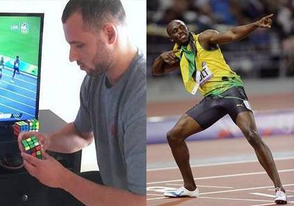 This Man Solves Rubik's Cube Faster Than Usain Bolts 100 Meters Record! » StoryDecker | Online News | Scoop.it