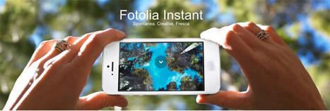 Fotolia Instant App, da Fotolia nuovo importante passo verso il Mobile | social media marketing | Scoop.it