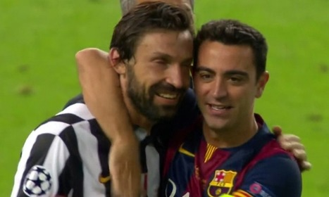 The gifs that keep on giving: Xavi, Andrea Pirlo, LeBron James and Michael Jordan - The Guardian | AC Affairs | Scoop.it