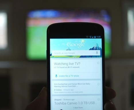 Google Now's New TV Info Feature is Pretty Awesome – Droid Life | Social TV is everywhere | Scoop.it