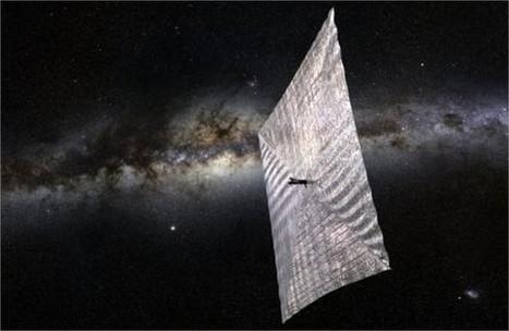 Une voile solaire qui pourrait révolutionner le voyage spatial | The Blog's Revue by OlivierSC | Scoop.it