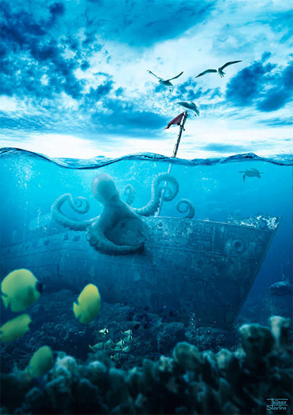 A Set Of Helpful Underwater Photoshop Tutorials | Naldz Graphics | Photoshop Tutorials | Scoop.it