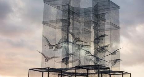 "Edoardo Tresoldi: ""Incipit"" | Art Installations, Sculpture, Contemporary Art | Scoop.it"