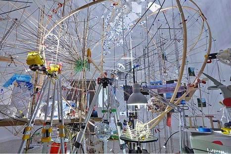 Sarah Sze : Triple Point | installations art | Scoop.it