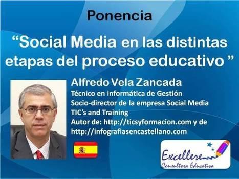 Ponencia Social Media en las distintas etapas del proceso educativo. - Congreso TIC | Pizarra Digital | Scoop.it