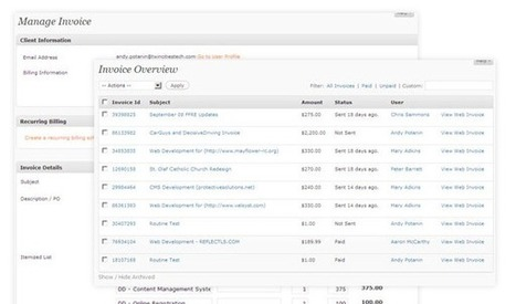 Free WordPress Invoice Plugins | Free Wordpress Plugins | Scoop.it