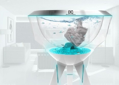Pecera : un concept de machine à laver futuriste | Innovations urbaines | Scoop.it