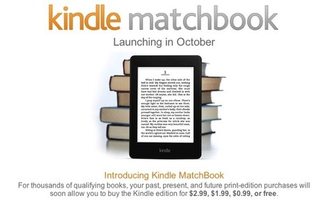 Amazon To Give Discounts On Kindle Versions Of Books You Already Own | Psychology of Consumer Behaviour | Scoop.it