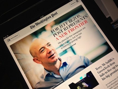 Jeff Bezos, patron du Washington Post, a de grands projets sur Kindle | Avenir de la presse | Scoop.it