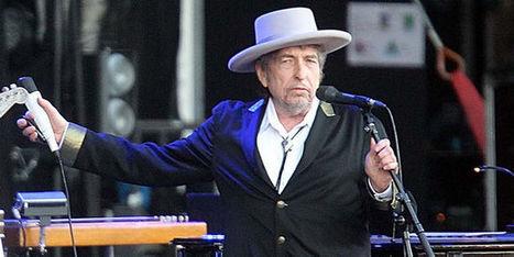 Bob Dylan n'ira pas chercher son prix Nobel | Florilège | Scoop.it